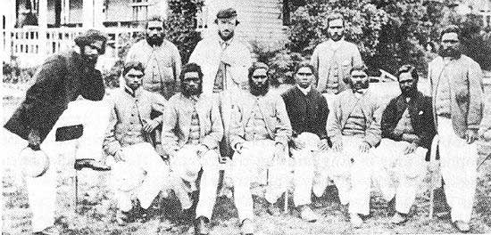 Australian cricketers 1868