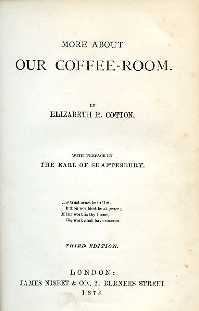 title page to coffee room book