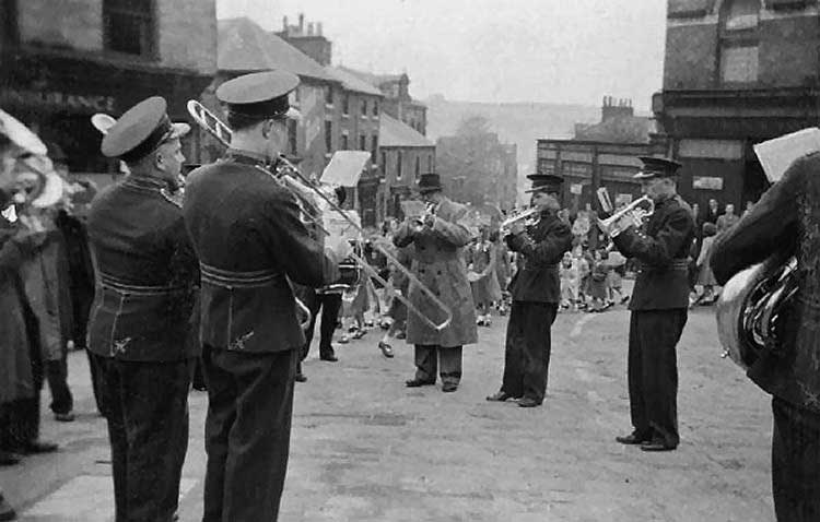 Crich brass band