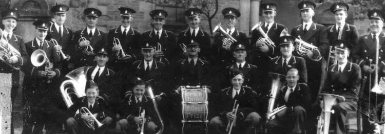 Crich Prize brass band