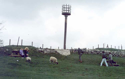 Crich stand beacon 1982