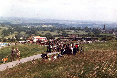 Crich Stand Sunday 1982