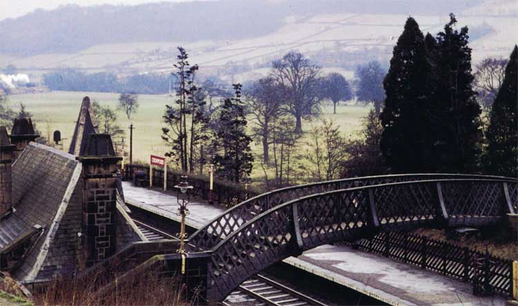 photo of Cromford Station bridge