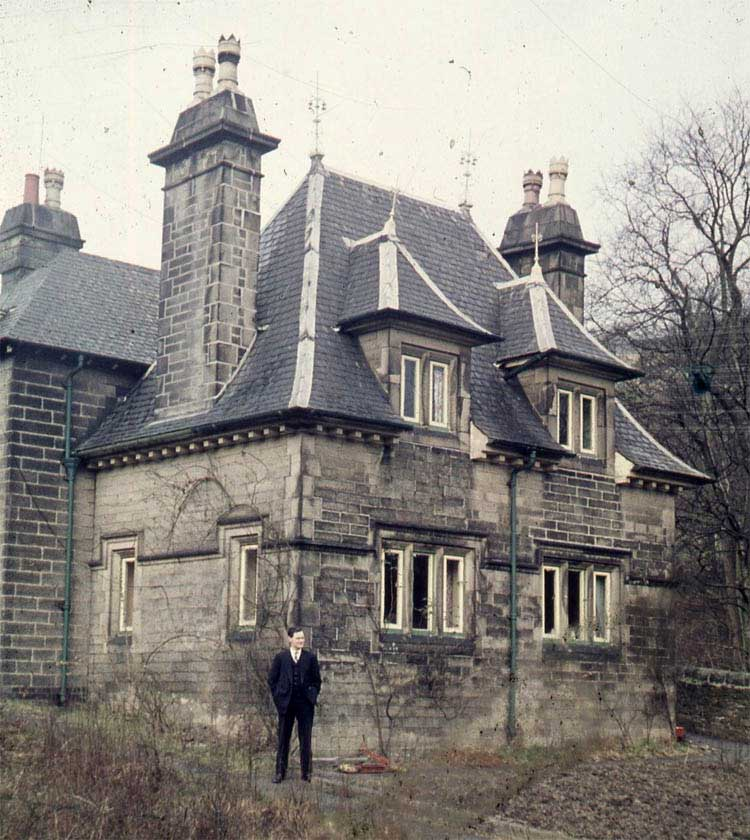 photo of Cromford Station house