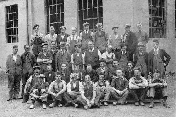 Dawbarns workers c1929