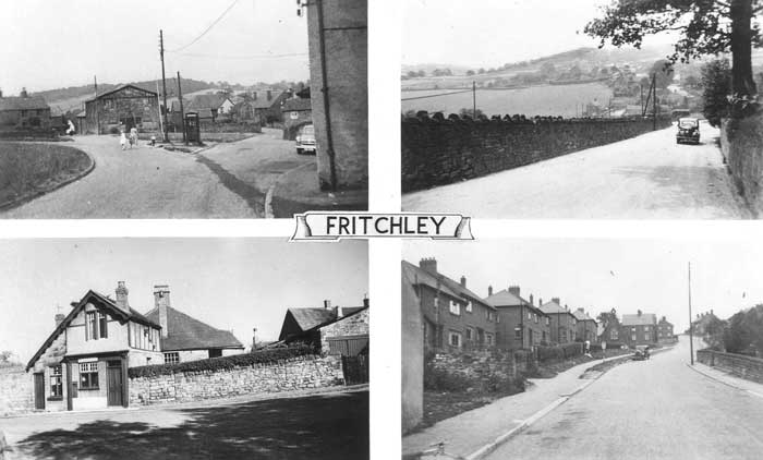 postcard of Fritchley