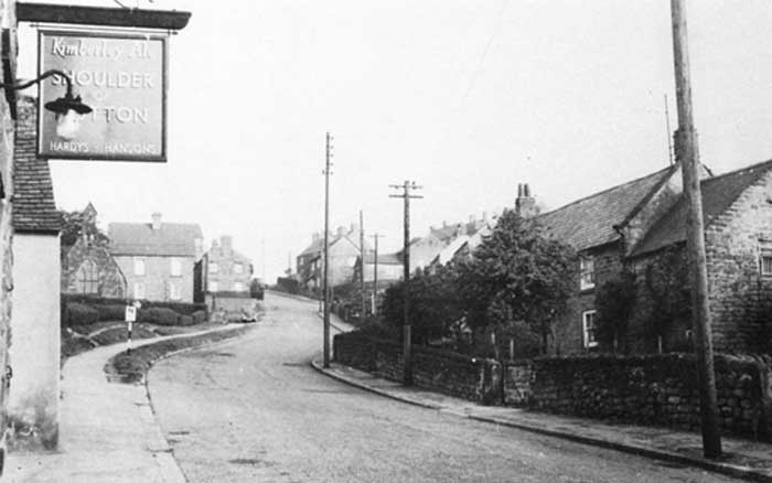 Shoulder of Mutton in Fritchley