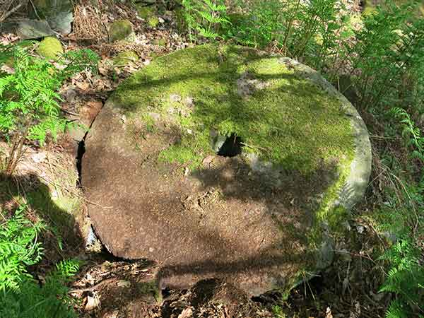 millstone on Crich Chase