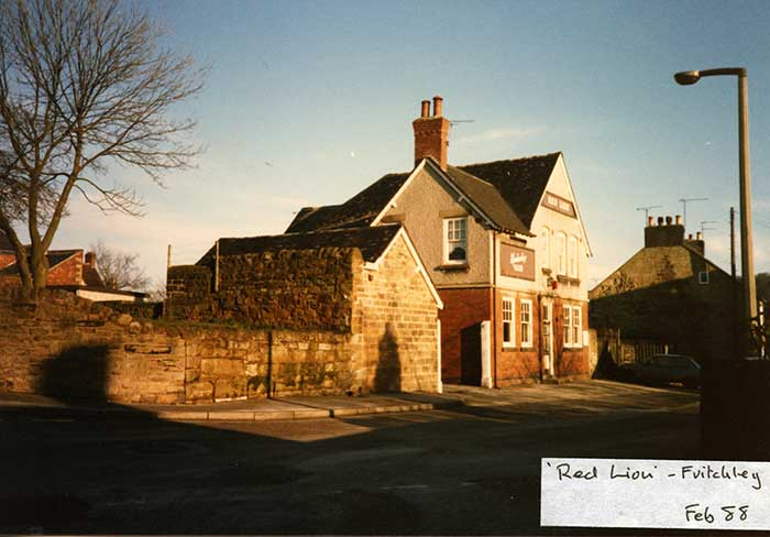 Red Lion at Fritchley 1988