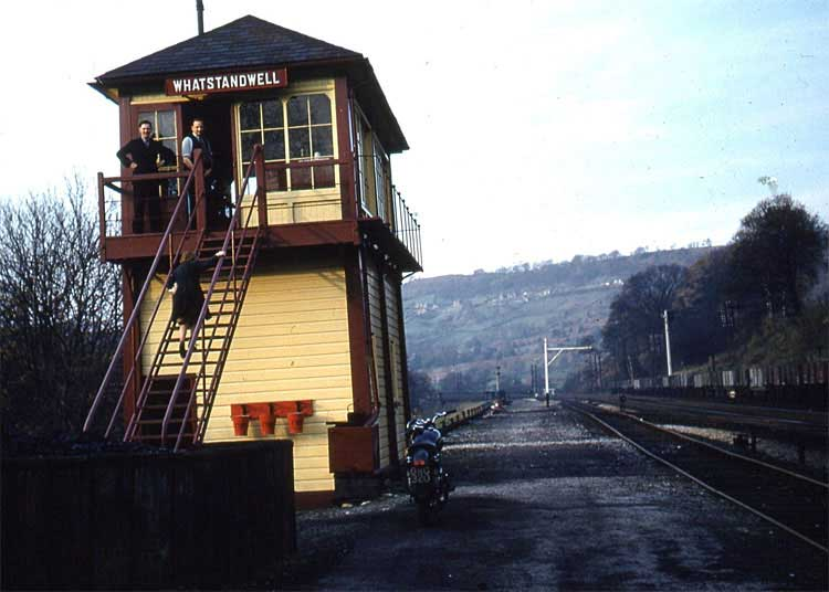 photo of Whatstandwell station-box